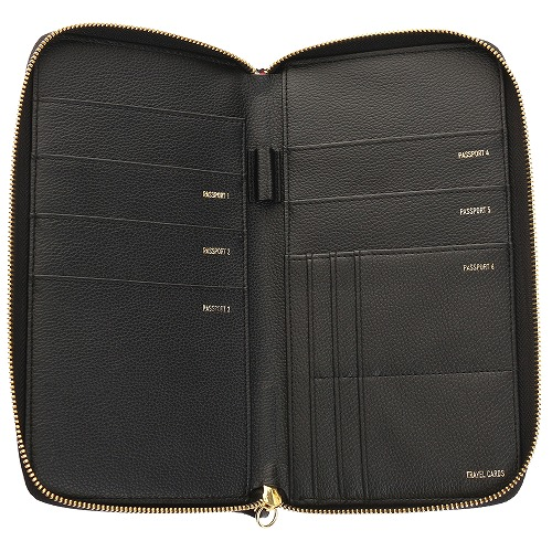 <<F1 T5 COLLECTION FAMILY PASSPORT WALLET>> ファミリーパスポートウォレット  ホワイト / 50370-06