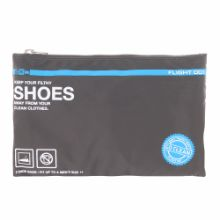 <<F1 Go Clean Shoes チャコール>> パッキングバッグ シューズケース / 50107-01