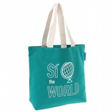 "<<Canvas Tote ""Si To The World"">> トートバッグ キャンバストート / 50205-04"