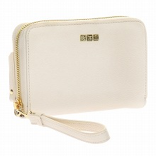 <<F1 T5 COLLECTION TRAVEL WRISTLET WALLET>> トラベルリストレットウォレット  ホワイト / 50372-06